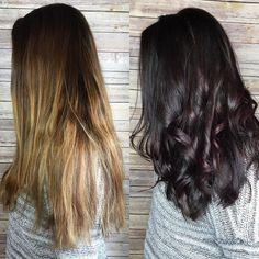 """27 Likes, 3 Comments - Meghan Dotson (@chocolategoddessglam) on Instagram: """"#throwbackthursday to last week when I did @thattallgirl13 hair, loving the deep tones ☺️…"""""""