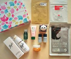 New @yesstyle Beauty Box value of products $50 and priced at $35. Free shipping above $35 This YesStyle Beauty Box contains five full-size and five sample-size skincare products. RiRe Style Black Head Brush Cleanser (20ml) | Full Size Etude House AC Clean Up Toner (15ml) | Sample Size Etude House AC Clean Up Pink Powder Mask (20ml) | Sample Size Benton Snail Bee High Content Mask Pack (20g) | Full Size REPIEL Smart Hair Mask Magic Steam (1 piece) | Full Size COSRX Acne Pimple Master Patch (1…