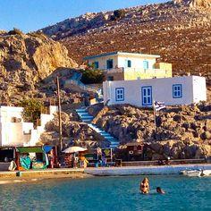 Pserimos, Kalymnos, Dodecanese Island - Greece. Amazing Destinations, Vacation Destinations, Dream Vacations, Santorini Villas, Myconos, Places In Greece, Greece Islands, Greek Life, Ancient Greece