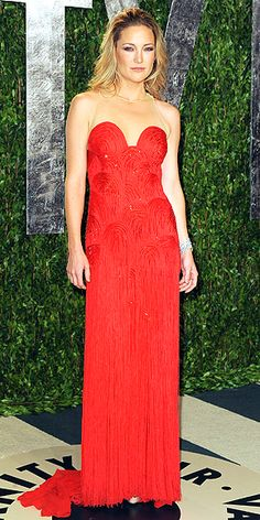 Kate Hudson's Atelier Versace gown is one of many in the night's hottest hue: red. 20 Dresses You Didn't See at the Oscars: bit.ly/Az8PKu