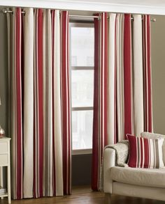 Broadway Readymade Lined Eyelet Curtains - Raspberry