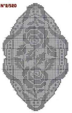 World crochet: Napkin 356