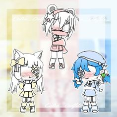 Source by rlmcwilliams anime Cute Girl Drawing, Pony Drawing, Cute Anime Chibi, Anime Girl Cute, Kawaii Drawings, Cute Drawings, Msp Vip, Life Verses, Anime Drawing Styles