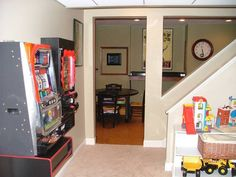 No man cave is complete without its own slot machine.