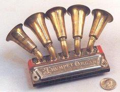 Very Rare Trumpet Harmonica (Organ); wonder how it sounds #rare
