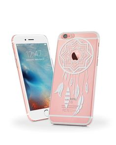 Amazon.com: iPhone 6s Case, iPhone 6 Clear Case Dream Catcher Pattern Designer Back Cover, MOSNOVO White Henna Dreamcatcher Clear Slim Case Cover for iPhone 6s 6 4.7\