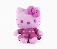"Hello Kitty 5"" Mascot Plush: Purple Tee"