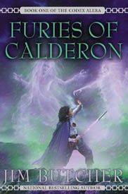 Furies of Calderon by Jim Butcher - The first book in the Codex Alera  (fantastic series!)