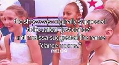 Did you dancemommers out there know this? :)