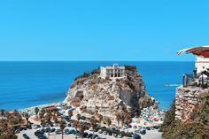 Italy, Tropea Island Madonna Sanctuary Holidays S Tropea Italy, Seaside Towns, Beach Town, Sandy Beaches, Snorkeling, Sicily, Italy Travel, Family Travel, Europe