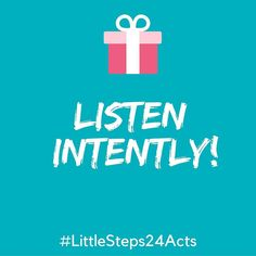 Random acts of kindness-day 12!  Listen intently...it's harder than you think.  #littlesteps24acts . . . #mylittlesteps #kindness #randomactsofkindness #goals #holidayseason #giveback #impact