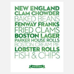 Boston Food
