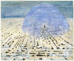 anselm kiefer, everyone stands under his own dome of heaven, 1970