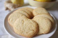 biscuits sans gluten aux citron et gingembre