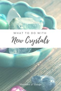 """Congratulations! You just found a beautiful, new crystals and you love it! Now you're wondering, """"What next?"""" Clear. Dedicate and/or Program. Charge. Then, enjoy!This post will help you get the most from working with crystals."""