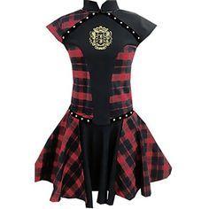 81bc6cc91c05a5 Partiss Partiss Damen Retro Gothic Lolita Schwarz Kleider Vintage Dress  Cosplay Cheongsam Vampir Kleider