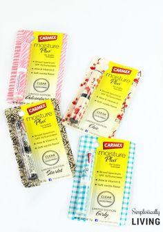 A Carmex Lip Balm Stick Designed For Every Season #ad #Carmex