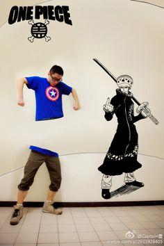 Gaikuo-Captain Draws One Piece Manga Illustration