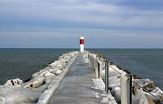 Irondequoit Bay Lighthouse, Irondequoit, New York.  My Dad was from Irondequoit.