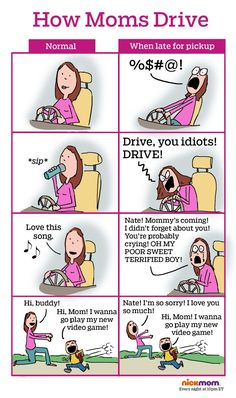This Is Why We Need a Special Driver's Ed for Moms | More LOLs & Funny Stuff for Moms | NickMom