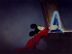 fantasia. my MOST favourite Disney movie EVER
