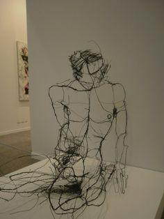 David Oliveira -wire sketches