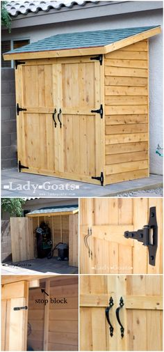 With these DIY shed plans, you will be able to build the storage sheds of your dreams without spending a lot of money plus these DIY shed plans are easy and quick to build. storage shed Shed Building Plans, Diy Shed Plans, Pallet Shed Plans, Dyi Shed, Garden Shed Diy, Pallet Barn, Barn Plans, Building Ideas, Backyard Sheds