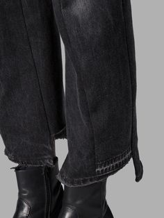 !VETEMENTS ヴェトモン(ベトメンツ)のランウェイアイテム デニム VETEMENTS WOMEN'S BLACK JEANS 詳細|海外直送で日本未発売アイテムが買える!国内最大級の海外通販サイトLASO(ラソ)