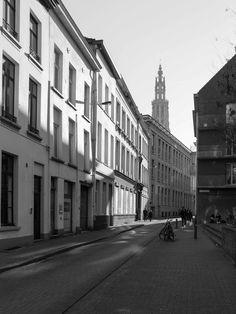 Street in Antwerp Belgium by ejrbakker #ErnstStrasser #Belgien #Belgium Antwerp Belgium, Street, Belgium, Roads