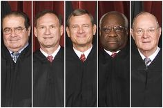 #USA  #Disgustingthingsppldo  5 SCOTUS Judges for Corruption Identified by their pics.  I recognize Thomas Clarence, famous for allowing Monsanto to pass their GMO foods as safe for public.  Can you recognize him?  The Latest Ruling:  http://www.dailykos.com/story/2014/10/08/1335293/-5-SCOTUS-Justices-Are-Blatantly-F-cking-Americans-Out-Of-Fair-Elections