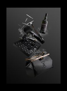 Bartender educational kit for Ardbeg Single Malt Whisky. Smoke Photography, Product Photography, Single Malt Whisky, Scotch Whiskey, Bottle Packaging, Commercial Photography, Bartender, Masters, Behance