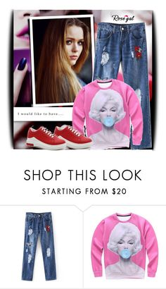 """""""Rosegal 70"""" by pantarei85 ❤ liked on Polyvore featuring Toni&Guy"""
