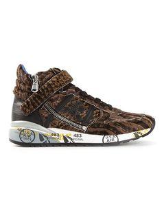 Premiata White 'nicky' Hi-top Sneakers - Jofré - Farfetch.com