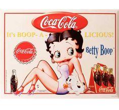 Coke or Pepsi classic betty boop Coca Cola Poster, Coca Cola Ad, Always Coca Cola, Retro Advertising, Vintage Advertisements, Vintage Ads, Vintage Posters, Vintage Coca Cola, Imagenes Betty Boop