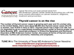 Thyroid cancer is on the rise Disability Application, Thyroid Cancer, Itunes, How To Apply, Youtube, Youtubers, Youtube Movies