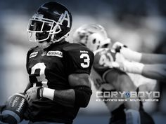Two-time yard rusher, running back Cory Boyd. Running Back, Argos, South Carolina, Football Helmets, Reebok, Toronto, Yard, Sports, Blue