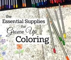 Grown up coloring is a fun stress reliever, and can even be meditative. Having the right tools in your coloring tool kit will certainly make it much more pleasurable. If you have ever used a pen with gloppy...