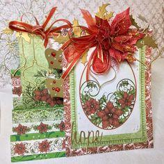Prendre le temps....: Christmas Step Card - DT CREATIVE CRAFT COTTAGE - ...