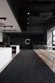 黒や白を多用したsf的な空間が創造力を掻き立てる Macquarie のオフィス オフィスデザインや内装設計を手掛ける株式会社インクルードデザイン オフィスデザイン 内装 オフィスインテリア