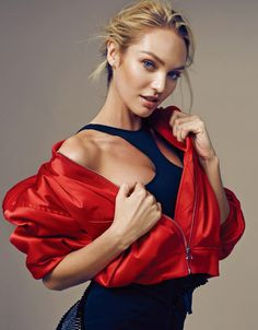 Candice Swanepoel by Rex Xu for Elle China May 2016 Check more at http://fashnberry.com/red-hot-candice-swanepoel-for-elle-china/