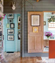 hang art on doors