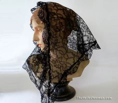 Exquisite mantillas and chapel veils made in the USA by VeiledWoman Mantilla Veil, Chapel Veil, Triangle, Kimono Top, Crystals, Trending Outfits, Unique Jewelry, Veils, How To Wear
