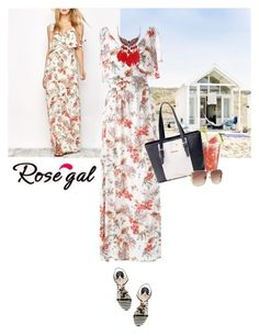 """rosegal"" by saramoreira ❤ liked on Polyvore featuring Therapy"