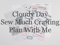 Personal Plan With Me - Cloudy Day
