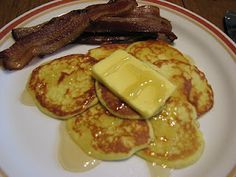 Coconut Butter Pancakes - made with eggs, coconut, vanilla,  and butternut squash... Must try! GF/DF!