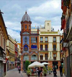Sevilla - Plaza del Pan; Photo taken in Seville, Sevilla, Spain; by Albányai Mária Selected for Google Earth [?] - ID: 44095304;