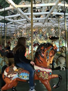 Crescent Park Loof Carousel