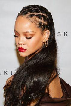 Rihanna Mode, Rihanna Riri, Rihanna Style, Estilo Rihanna, Looks Rihanna, Curly Hair Styles, Natural Hair Styles, Hairstyle Ideas, Hair And Beauty