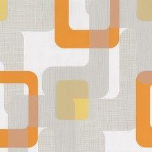 orange retro design wallpaper