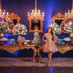 The Latest On Major Elements In The Best Quinceanera Party Decor - Happy Time Cinderella Party Decorations, Cinderella Quinceanera Themes, Quinceanera Tiaras, Quinceanera Planning, Quinceanera Invitations, Quinceanera Party, Cinderella Sweet 16, Cinderella Theme, Quince Themes